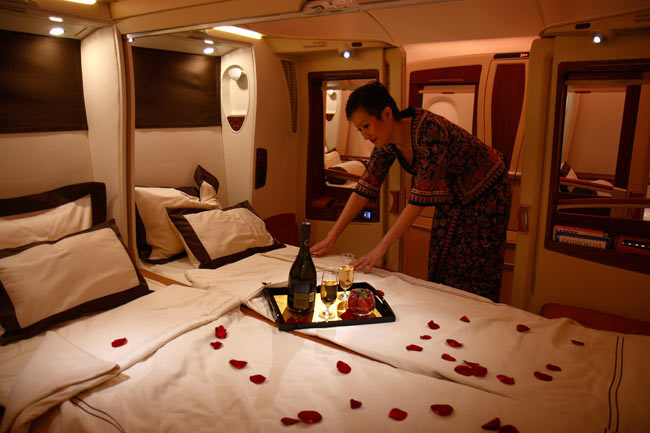 first class suite emirates airline places i will go