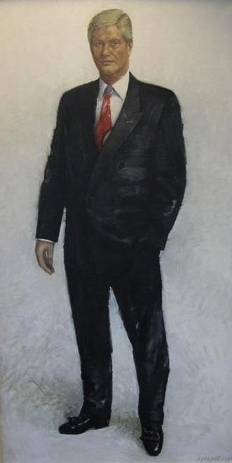 Hans Kroon painting