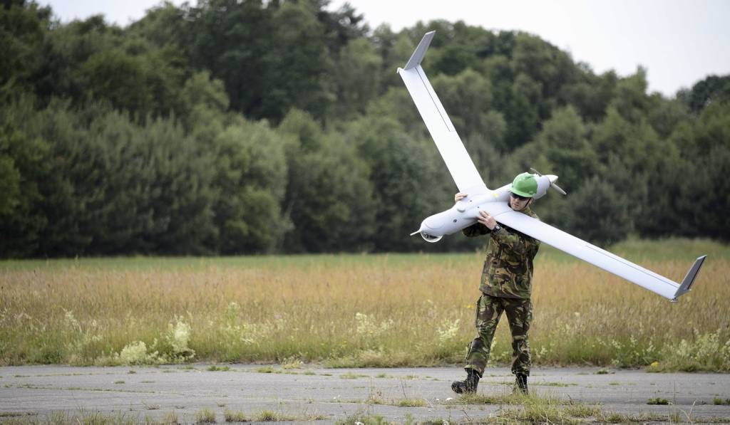 Defensie presenteert onbemand vliegtuig
