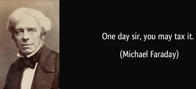 faraday quote