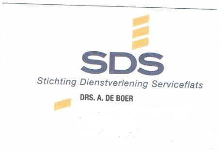 De Boer SDS kaartje