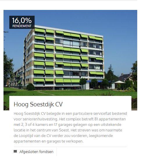 Rendement Hoog Soestdijk