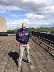 Award-winning copywriter Martijn de Vreeze van Copy Commando heeft zijn kamp opgeslagen bij B.Amsterdam. Hij verheugt zich al op de rooftop parties.