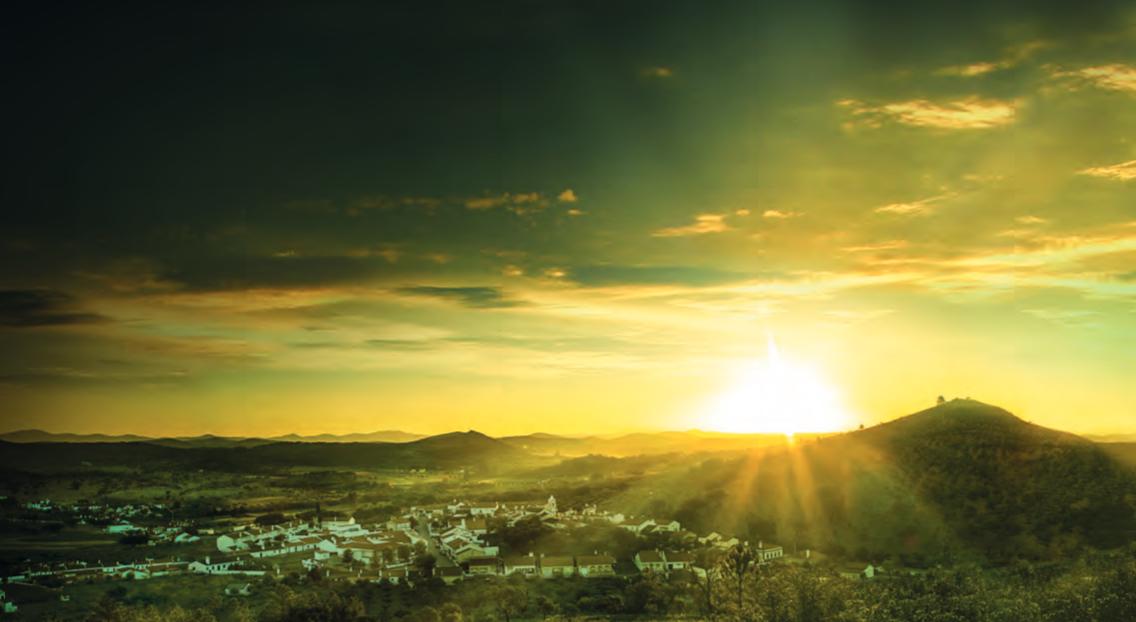 zon breekt door in Portugal