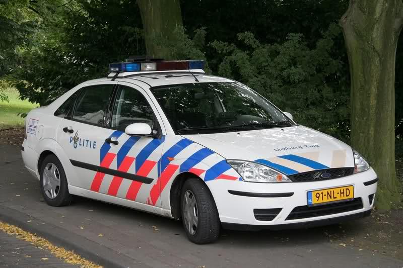ford politiewagen