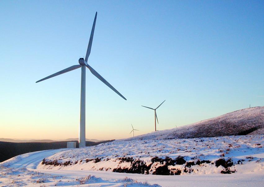 Wind Park Bowbeat, E.ON UK