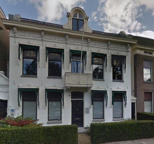 Het kantoor van het Wooninvesteringsfonds, Utrechtseweg 129 te Zeist