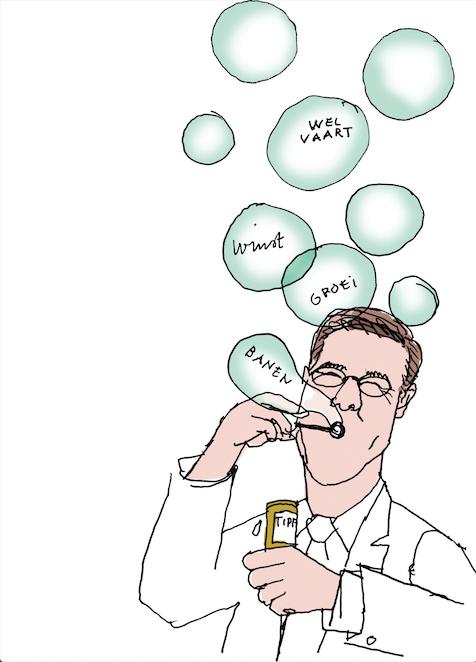 Rutte bubbels TTIP