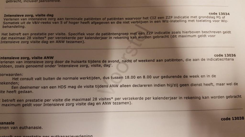 De bepaling in het contract van VGZ met Nederlandse huisartsen