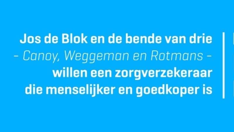 De Blok krijgt hulp van 'de bende van drie'